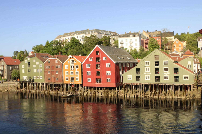 Lagerhäuser Trondheim ©Horst Reitz