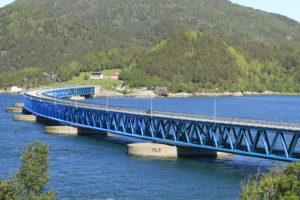 Schwimmbrücke Bergsöysund-Brücke ©HorstReitz