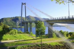 Bei Kristiansund Gjemnessund-Brücke ©HorstReitz