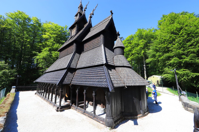 Stabkirche bei Bergen © Horst Reitz 2018