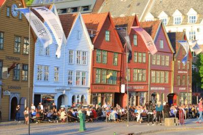 Hanseviertel von Bergen © Horst Reitz 2018