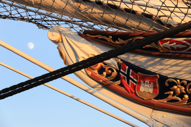 Bergen Segelschiff Statsraad Lehmkuhl ©HorstReitz