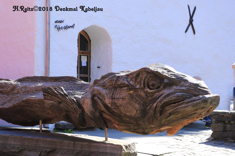 Bergen Denkmal Kabeljau ©HorstReitz