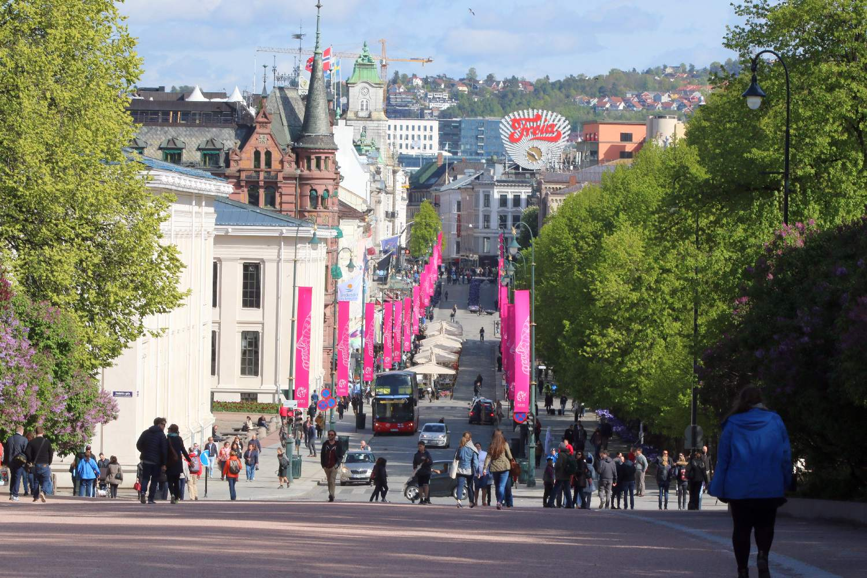 Oslo Hauptstadt Norwegens, ehemals Christiani ©HorstReitz