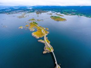 Norwegen Atlantic Ocean Road - Atlantikstrasse bei Kristiansund ©123RF