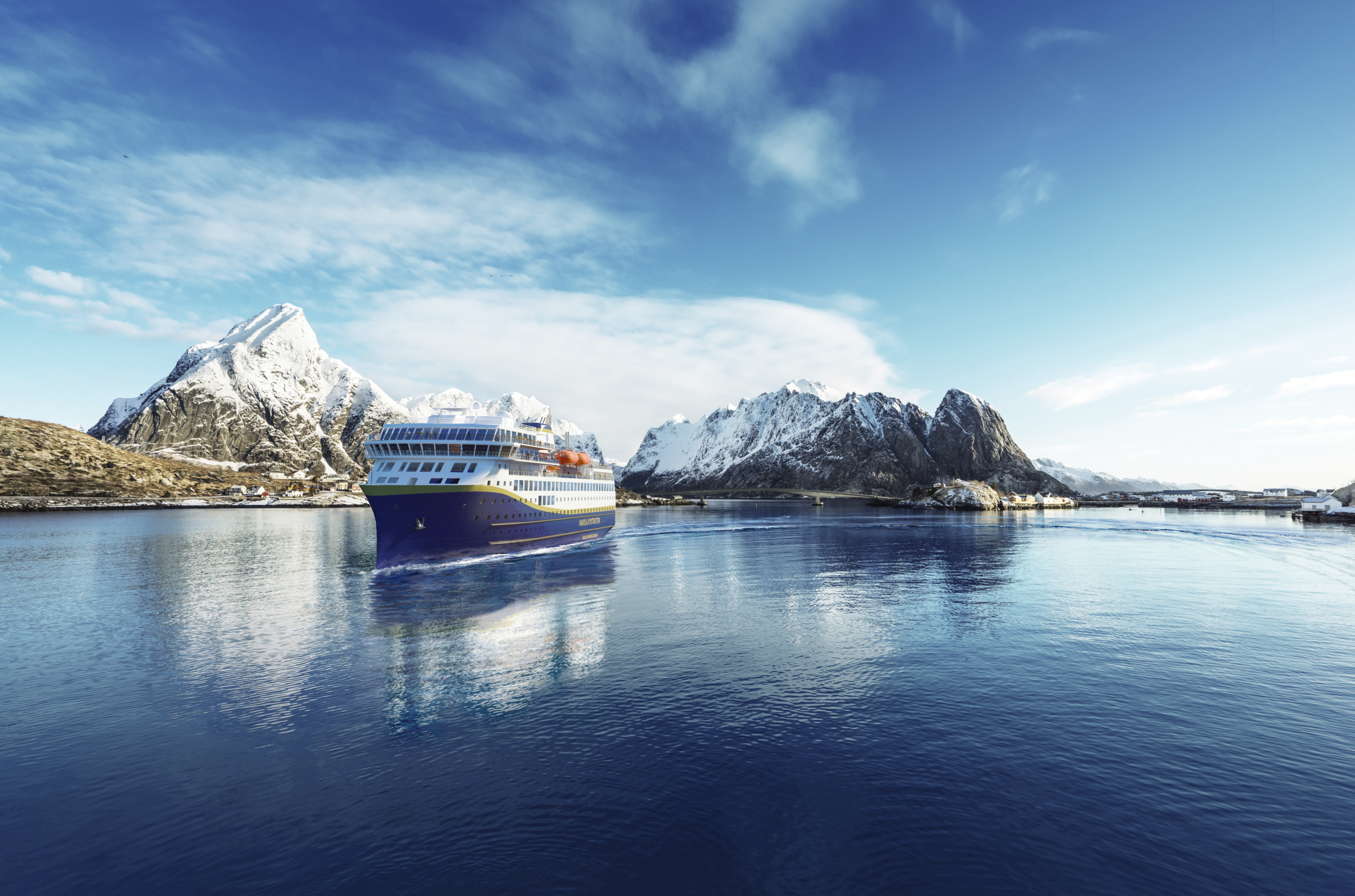 Moderne Havila Kystruten Schiffe ©LakovKalinin